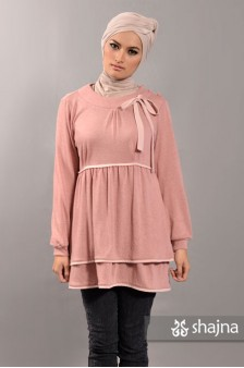 SK312B - TIERED JERSEY TOP