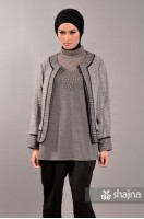 SK340 - TWEED SHORT JACKET