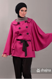 SK341 - BELTED CAPE