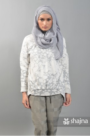 SK459A - FLORAL REIKA SWEATER