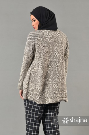 SK492A - FLORAL SOLEIL SWEATER
