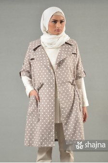 SK610B - BROWN SHELBY COAT