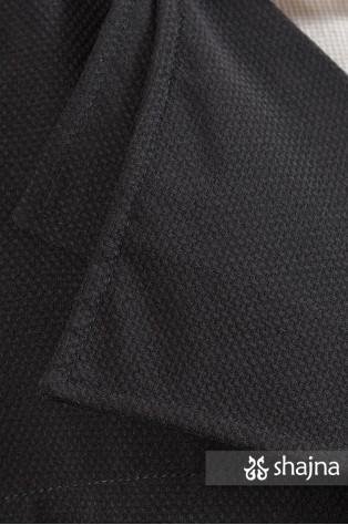 SK618A - BLACK HAZEL COAT