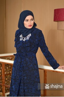 SK639A - BLUE ANNORA LIGHT COAT