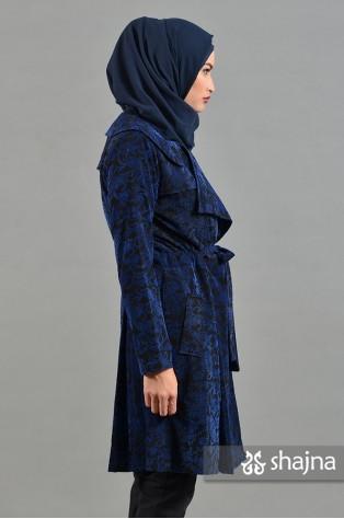SK639A - BLUE ANNORA LIGHT COAT