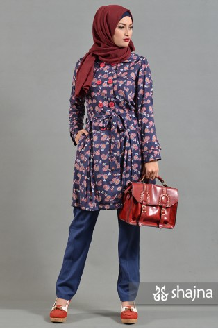SK657 - ROSELLE LIGHT COAT