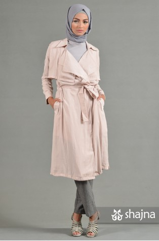 SK669 - MILLA LONG LIGHT COAT