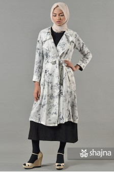 SK673 - SHIROI LONG LIGHT COAT