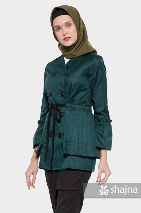 GREEN CHISATO TOP - SK791