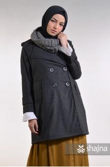 SK811 - BLACK ALKEA COAT