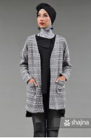 SK901 - LUCILLE LONG CARDIGAN