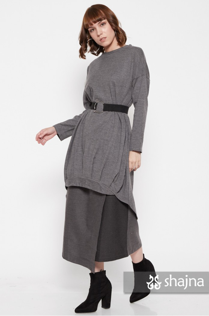 AIKO LONG SWEATER - SK917
