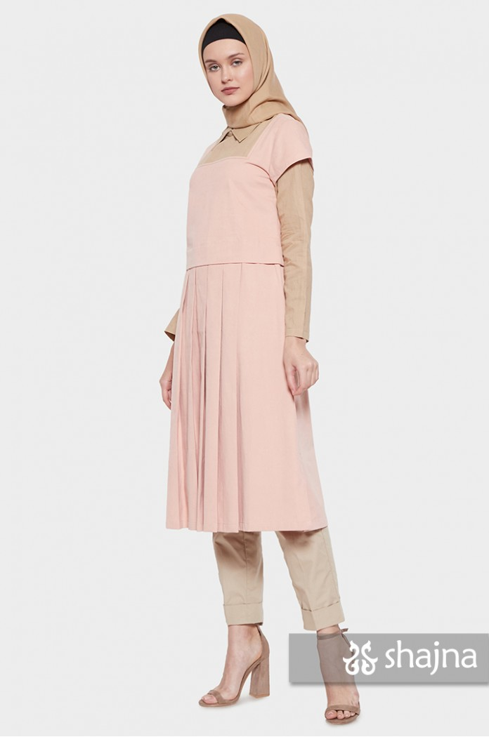 PEACH KAMI MIDI DRESS - SK950