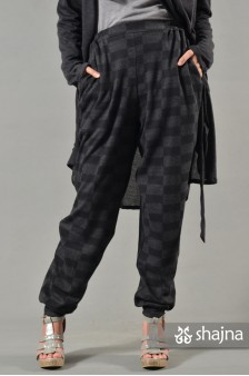SKC057A - CHECKED MEGUMI TROUSERS