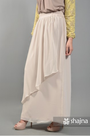 SKR059A - OFF WHITE AMARYL SKIRT