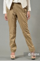 ST066B - BROWN CARRA TROUSERS