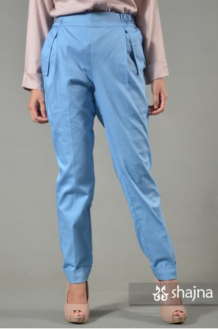 ST066C - BLUE CARRA TROUSERS