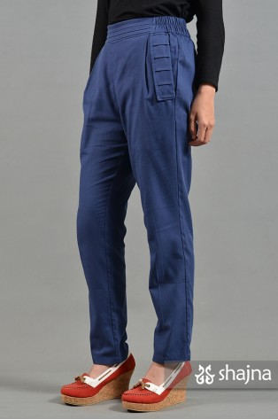 ST070A - BLUE EDINNA TROUSERS