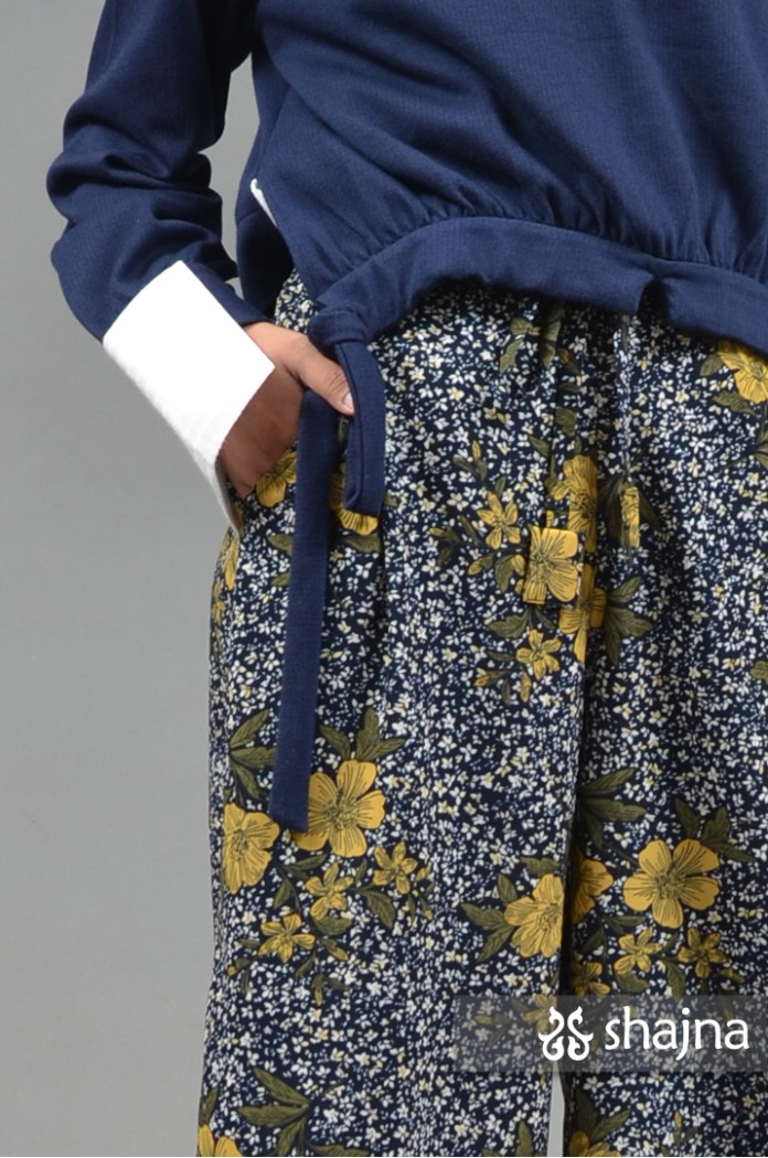 ST097 - FLORAL LEONE TROUSERS