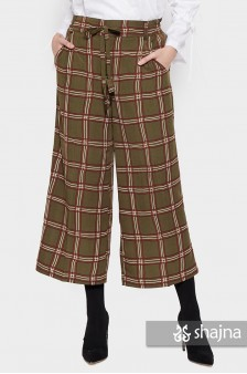 ST097B - PLAID LEONE TROUSERS