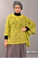 SK385B - YELLOW FREIJA LACE TOP