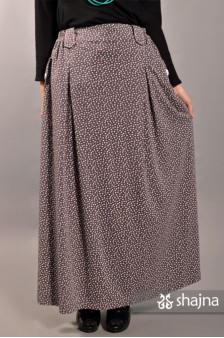 SKR041B - GREY LIZZY SKIRT