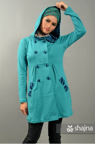SK359 - HOODED JERSEY TOP