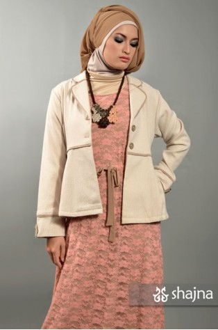 SK371 - CREAM TWEED BLAZER