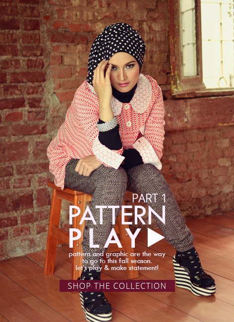 Shop our new collection: Pattern Play