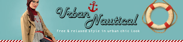 SHAJNA Lookbook: Urban Nautical