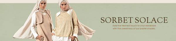 SHAJNA Lookbook: Sorbet-Solace