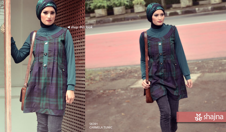 Shajna Lookbook: Pattern Play 2