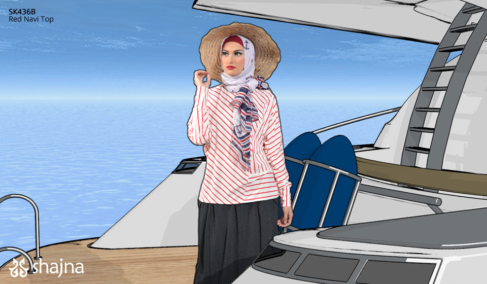 Shajna Lookbook: Sail Away