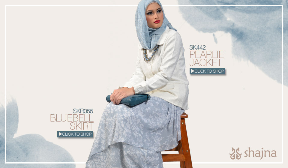 Shajna Lookbook: Romanchic Splash