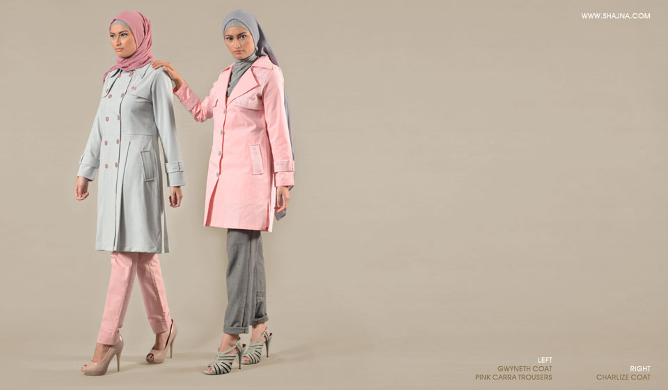 Shajna Lookbook: Sorbet Solace