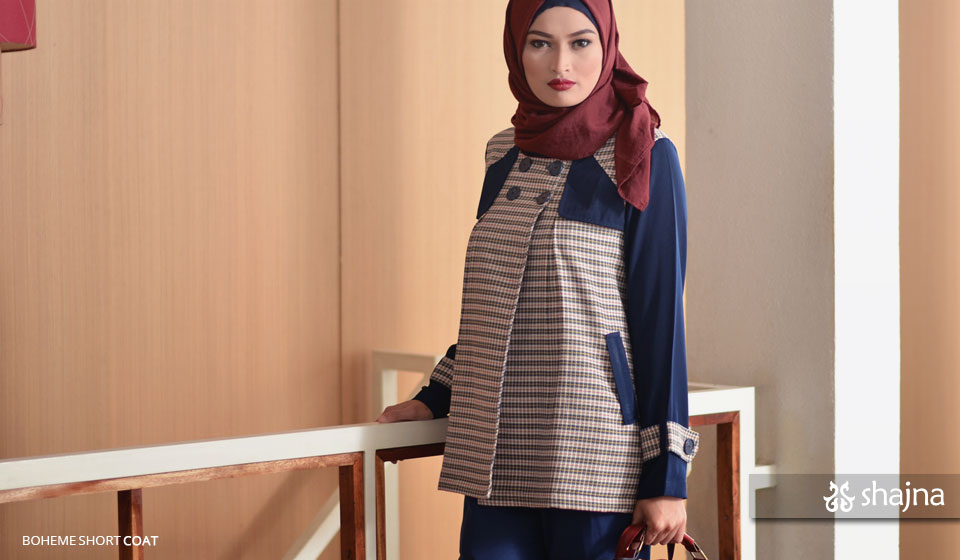 Shajna Lookbook: Modern Mod