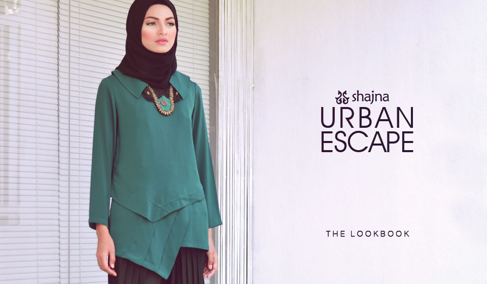 Shajna Lookbook: Urban Escape